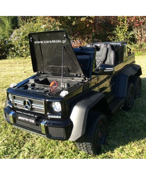 6x6 Mercedes-Benz G63 AMG with 2.4G R/C under License