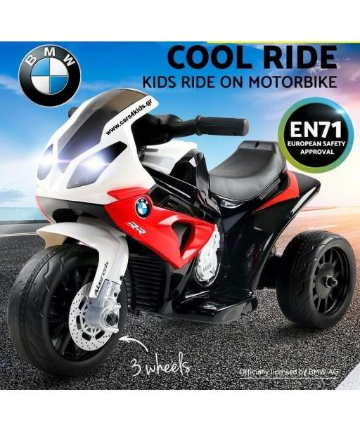 Red BMW S1000 RR Mini under License
