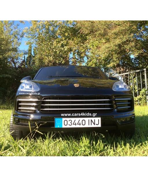 Porsche Cayenne  S Painting Black with 2.4G R/C under License