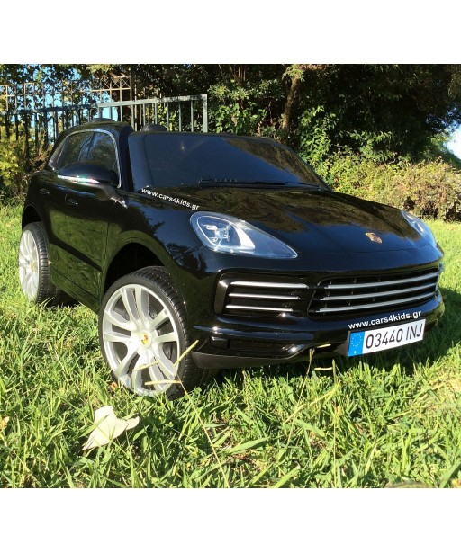 Porsche Cayenne S Painting Black with 2.4G R/C under License