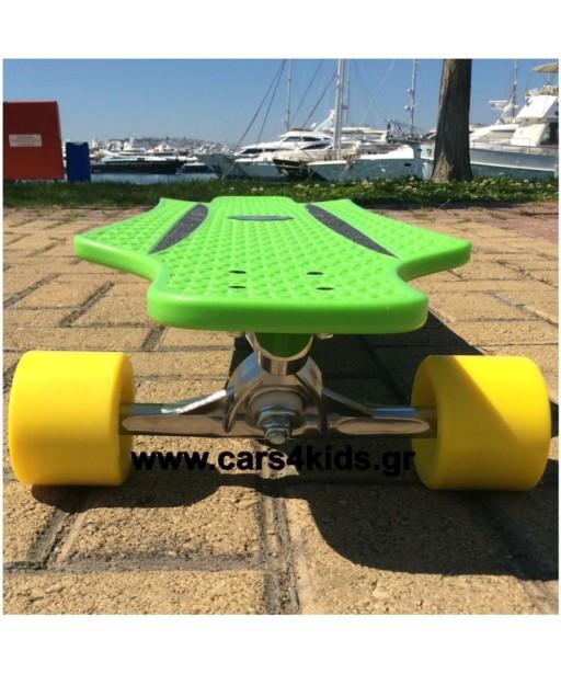 Hudora Longboard Cruise Star Green